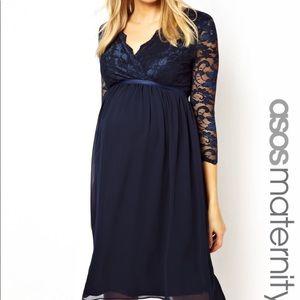 ASOS maternity dress *black lace* NWT!!! 🤰🏻